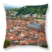 Heidelberg Deutschland Germany Throw Pillow