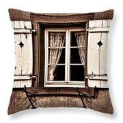 Heidelberg Window Throw Pillow