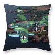 Heinkel He 115 Throw Pillow