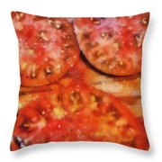 Heirlooms With Salt And Pepper Throw Pillow