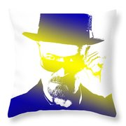 Heisenberg-3 Throw Pillow