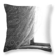 Held Up On Wind Throw Pillow