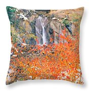 Life Is An Arbitrary Eruption Of The Inexplicable And Ineffable.  Throw Pillow