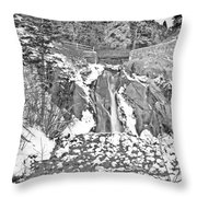 Come To Colorado And Fall In Love With Winter  Throw Pillow