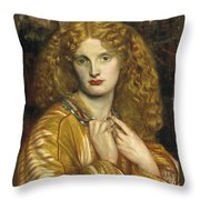 Helen Of Troy Throw Pillow by Philip Ralley