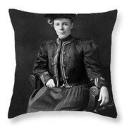 Helen Taft (1861-1943) Throw Pillow