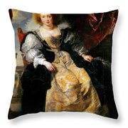 Helena Fourment Throw Pillow