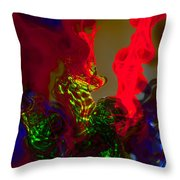 Helical Reformation Throw Pillow