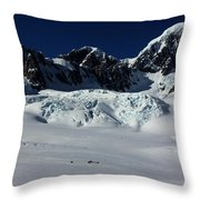 Helicopter New Zealand  Throw Pillow