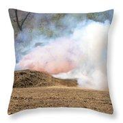 Hell Fire Throw Pillow