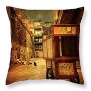 Helldorado Throw Pillow by Taylan Apukovska