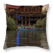 Hellgate Excursions At Taprock 2 Throw Pillow
