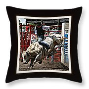 Hellicopter Ride Throw Pillow