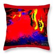 Hellinois Throw Pillow