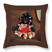 Hello And Welcome Throw Pillow