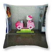 Hello Kitty Car Throw Pillow