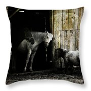 Hello Neighbour Throw Pillow