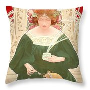 Helm Cocoa Throw Pillow