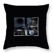 Helm Of Darkness Throw Pillow