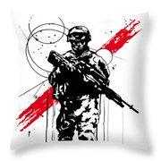 Helmand  Throw Pillow