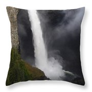Helmcken Falls 2 Throw Pillow