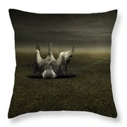 Help On The Way Throw Pillow