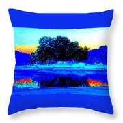 Help The Trolls Island Because It Can't Help Itself  Throw Pillow