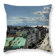 Helsingborg Hdr Pano Throw Pillow