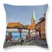Helsingor Street Throw Pillow