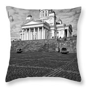 Helsinki Cathedral Throw Pillow