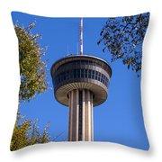 Hemisfair Park Tower Throw Pillow