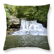 Hemlock Falls Throw Pillow