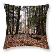 Hemlock Forest Throw Pillow