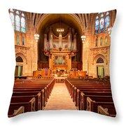Hennepin Avenue Methodist Church Throw Pillow