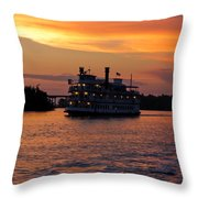 Henrietta II On The Cape Fear Throw Pillow