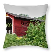 Henry Bridge 5797 Throw Pillow