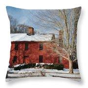 Henry Lloyd Manor House Throw Pillow