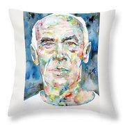 Henry Miller Portrait.1 Throw Pillow