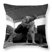 Henryrollins-gp12 Throw Pillow