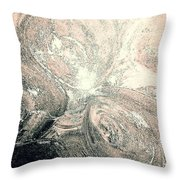 Her Inner Glow Throw Pillow