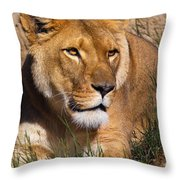 Her Majesty Throw Pillow