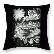 Mother Nature Throw Pillow