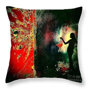 Her Power To Create Throw Pillow