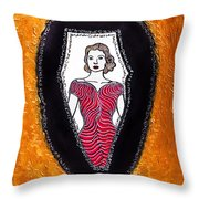 Her Secret Powers Throw Pillow