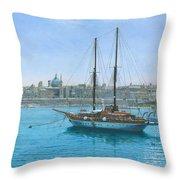 Hera 2 Valletta Malta Throw Pillow