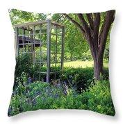Herb Garden0981 Throw Pillow