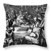 Herbal Medicine, 1676 Throw Pillow