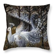 Here Comes The Mist Throw Pillow