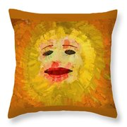 Here Comes The Sun One Throw Pillow