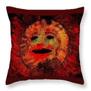 Here Comes The Sun Three Throw Pillow